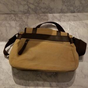 Bags - Tan Brown Satchel Bag Crossbody Purse Office Purse